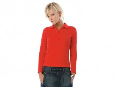 Safran Pure Women Long Sleeve Polo